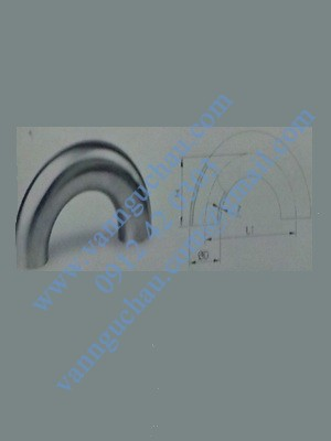 Cút hàn inox 180 độ tiêu chuẩn DIN