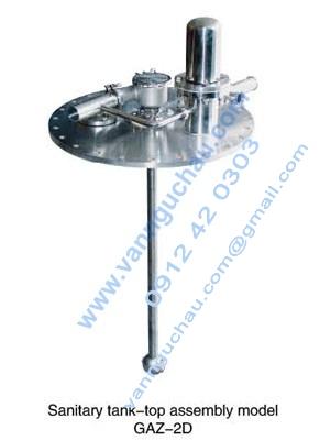 Cụm đỉnh tank model GAZ-2D inox vi sinh