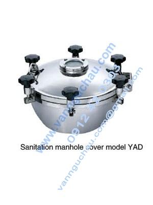Cửa áp thường có kính quan sát YAD inox vi sinh