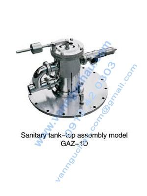 Cụm an toàn đỉnh tank model GAZ-3D inox vi sinh