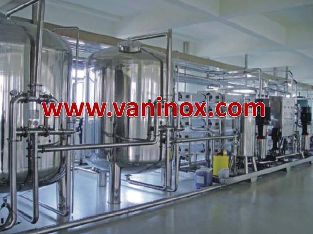 dây chuyền sản xuất nước tinh khiết RO